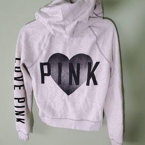Pink Victoria's Secret Zip Up